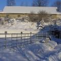 Anlage im Winter