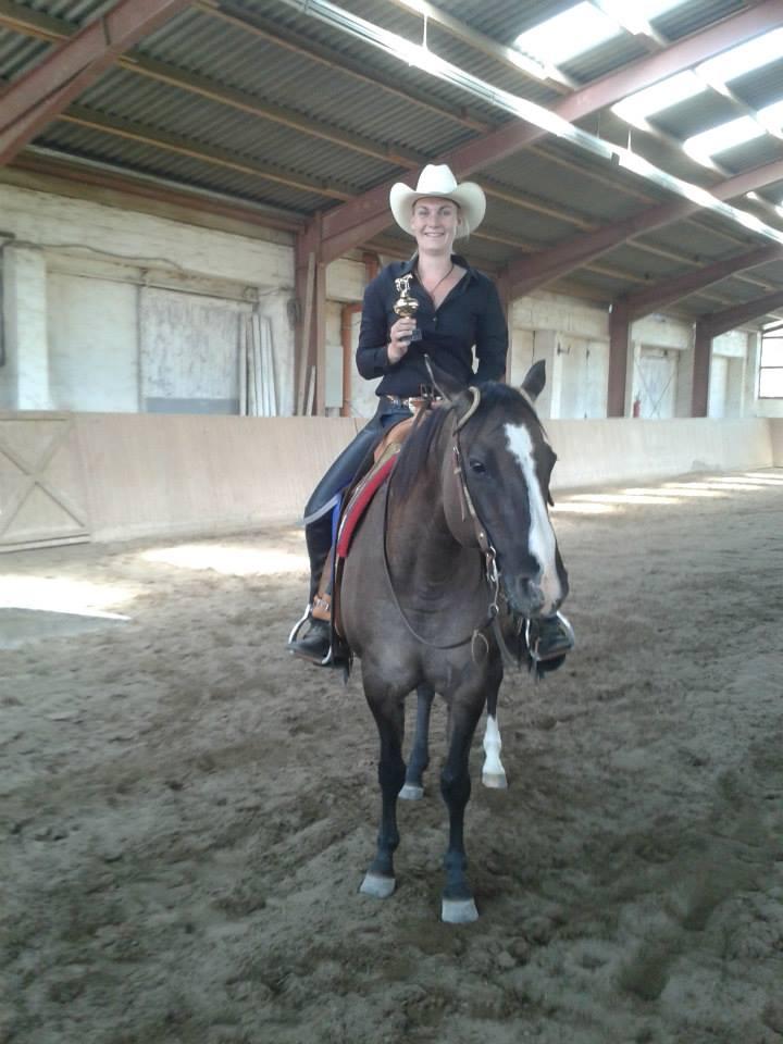 Sieger Trail LK 1: Freyja Ulbrich mit Miss Cody Jeanette